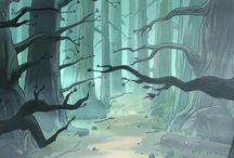 paisajes animados