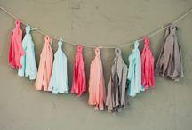 Crafts-banner and garlands / by Stacey Hansen