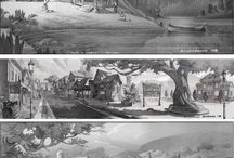 B/W Concept Art / The best of style, value and shape in Concept Art - in mono chrome.