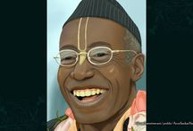 Art Work - Devotees / Wonderfull wallpapers of ISKCON Swamies maid by ISKCON Desire Tree
