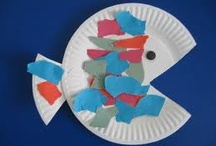 Preschool Ocean Theme Crafts / by Christy Price