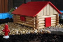 How to make a Fairy Log Cabin