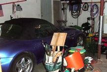 Garage Remodel / Garages are more than just a place to store your car. Garages are great for storing all of those items that don't fit in the house. Where to put the sports equipment? The garage! Garden and lawn tools? Garage! Random projects, paint, tools, etc.? Garage! What about junk, things you will never use again, and every random object imaginable? The garage of course! The garage often gets overwhelmed with clutter, as our lives get too busy to sort it all out.