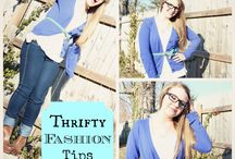 Thrifty Fashion / Tips to save money on fashion
