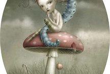 Art by Nicoletta Ceccoli