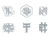 9. Monograms / A collection of monograms and logos.