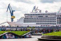 STYLE UP. EUROPA 2 / Zum zweiten Mal seit ihrer Indienststellung kommt die EUROPA 2 ins berühmte Dock 10 von Blohm+Voss in Hamburg. StyleUp!