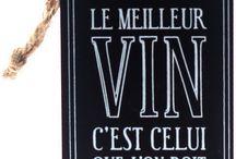 vin et table française