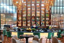 Bars, cafés, hotels