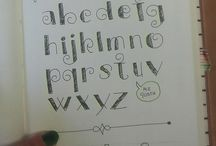 ALPHABETS NOTEBOOK