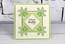 Inverse Flourish Collection / Here's a range of stunning card samples made using our beautiful Inverse Flourish dies and embossing folders. / by Tattered Lace®