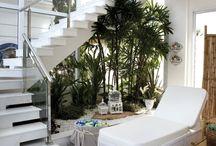 Jardins e Paisagismo Moderno! / Veja + Inspirações e Dicas de decoração no blog!  www.construindominhacasaclean.com