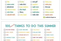 Summer ideas