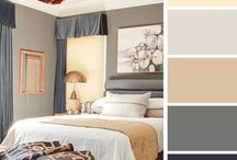 Колористика // Color / Вдохновение цветом. Идеальные сочетания цветов в интерьере. Нежные и яркие краски.