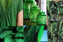 Green with me Mood Board