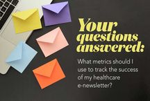 Healthcare e-newsletters / Reach your community with e-newsletters they'll love. Our best advice here.
