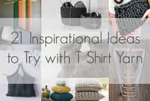T Shirt Yarn Ideas & Projects