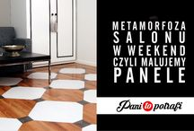 Metamorfoza - podłogi - paneli
