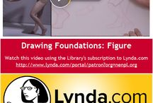 Lynda.com Training Videos / Lynda.com training videos available through our library homepage.