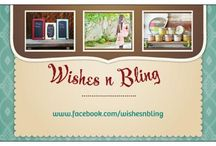 Wishes n Bling / Become our friend on Facebook at www.facebook.com/wishesnbling / by Cindy Jones