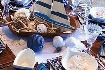 mesas decoradas nauticas