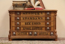 Heirloom Spool Cabinets / by The Studio @ Northstarz ★
