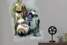 STAR WARS THE FORCE AWAKENS WALL DECAL