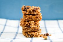 Baking Flapjacks / It's back to school time and thoughts are turning towards daily packed lunches. Why not try these flapjacks for an easy and nutritious snack for during or after school.