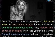 Spirits, ghosts, and creepy stuff