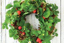 Garden craft and wreath ideas