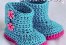 Crochet Baby Boots/Shoes / by Lori McGee Holbrook