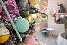 Kerst trends 2015 | Zoet & speels met pastels / Wat zijn de kersttrends voor 2015? Deze trend is lekker zoet en speels met pastelkleurtjes en circuselementen.  / by Christmaholic.nl - kerst