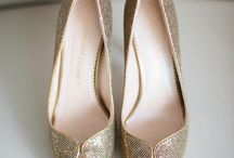 Head Over Heels / Walk down the aisle in style: sexy wedding shoes, sparkly wedding shoes, ballerina flat wedding shoes.
