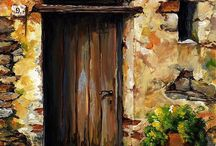 πορτες ζωγραφικη
