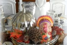 Decorating For Thanksgiving / Creative decor and decorating ideas for a Happy Thanksgiving.