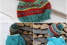 Knit Hats / by Sandy Krupa