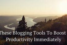 Blogging: Tips, Etc.