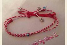 handmade march bracelets