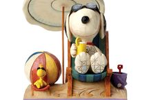 Peanuts by Jim Shore / Iconic American comic characters meet an iconic American collectible brand: Peanuts® by Jim Shore