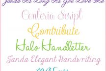 Font / by Sheena Gehring