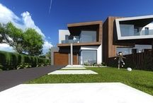 Camberwell Modern Townhouses / Modern Townhouses in Camberwell Melbourne designed by Architeria Architects