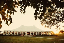 Tents for Outdoor Weddings / There is no better way to incorporate the beauty of nature than hosting an outdoor wedding! Gorgeous and creative tent ideas and decorations that inspire those of us who love the outdoors.