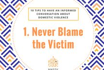 10 Tips to Have an Informed Conversation about Domestic Violence / Start a conversation today. Simply by talking about domestic violence, we help to erase the stigma and show support for victims and survivors.   Not sure where to start? Use our 10 Tips to Have an Informed Conversation about Domestic Violence.   Download the tipsheet from NNEDV.org