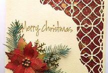 Pointsettia Christmas card