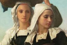 Art - William Adolph Bouguereau / by Deanna Galindo