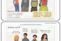 Español descripciones