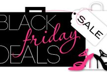 Black Friday / Check some gifts off your list with this collection of Deals for everyone on your list! / by Heidi at TheFrugalGirls.com