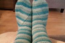 mitt strikk/my knitting
