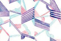 Abstraktní vzory / Textilní vzory