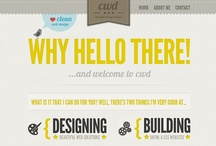 WEB DESIGN / by Crystal Wilkerson